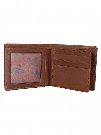 Vivienne Westwood Brown Foglio Dancing ORB Wallet
