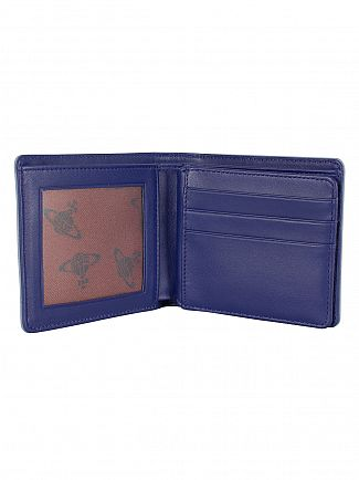 Vivienne Westwood Light Blue Foglio Orbs Wallet