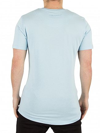 11 Degrees Light Blue Core Logo T-Shirt