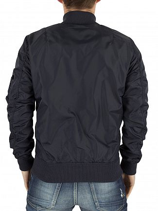 Alpha Industries Rep Blue MA-1 TT Bomber Jacket