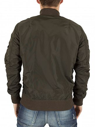 Alpha Industries Rep Grey MA-1 TT Bomber Jacket