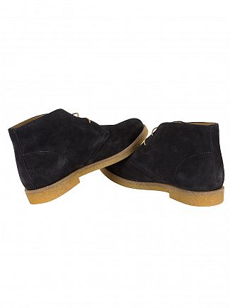 Base London Navy Charlton Boots