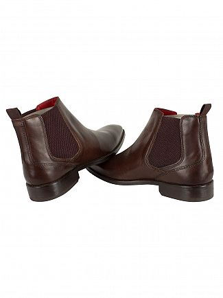 Base London Washed Brown Cheshire Chelsea Boots
