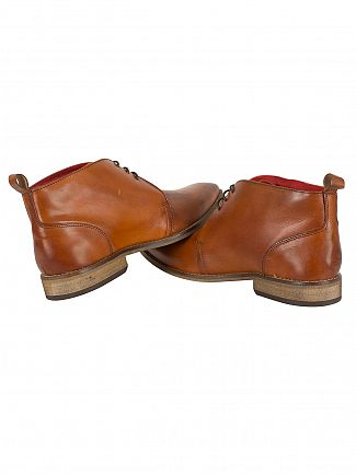 Base London Washed Tan Devon Boots