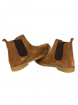 Base London Tan Ferdinand Boots